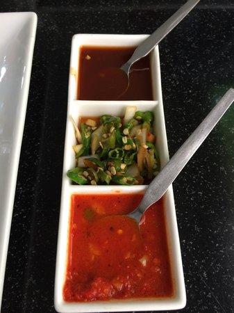 Zen Garden Restaurant: Sauces