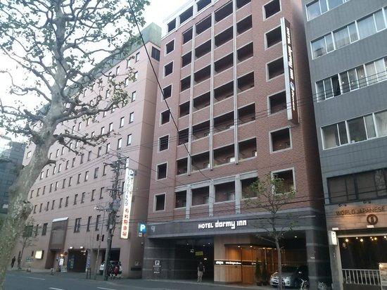 Dormy Inn PREMIUM Sapporo : ホテル外観