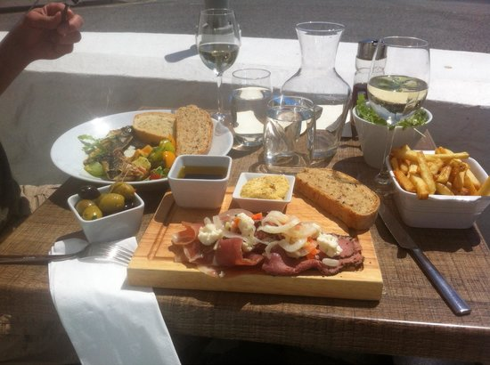 The Square At Porthleven: Fabulous lunch