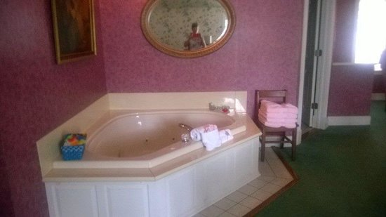 Evening Shade Inn Bed and Breakfast: Hot tub in Morgan room