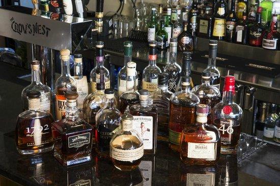 Crow's Nest Marina Restaurant & Tavern: A few of our liquors...