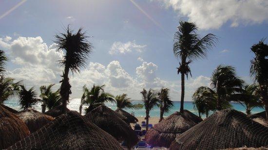Viva Wyndham Maya : vue vers la mer