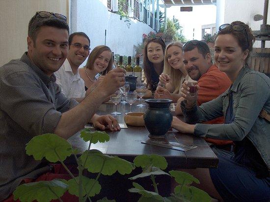 Santorini Wine Tour : aimiliosanastasia