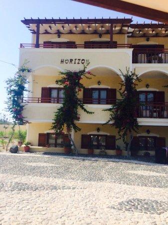 Horizon Resort: Front of the hotel