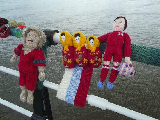 Saltburn Pier: Russia