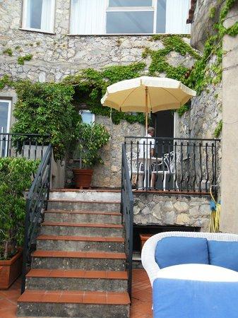 Le Agavi Hotel : patio