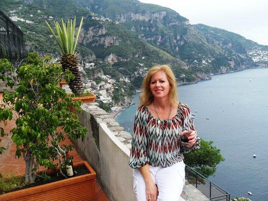 Le Agavi Hotel: our balcony