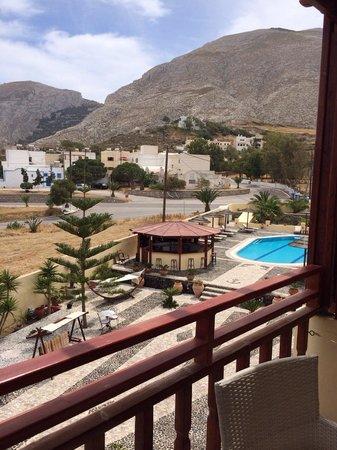 Horizon Resort: View from balcony room 29