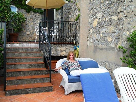 Le Agavi Hotel: patio