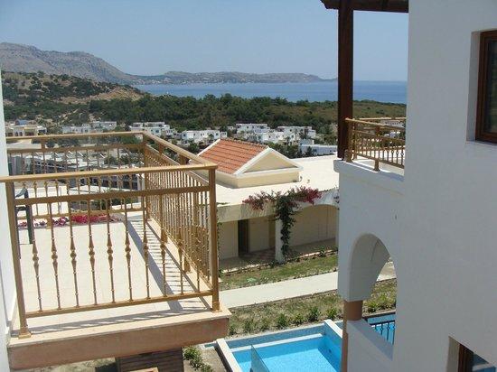 Lindos Imperial Resort & Spa: Вид из номеров