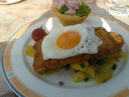 Restaurant Birkenhof: Das Hamburger Schnitzel