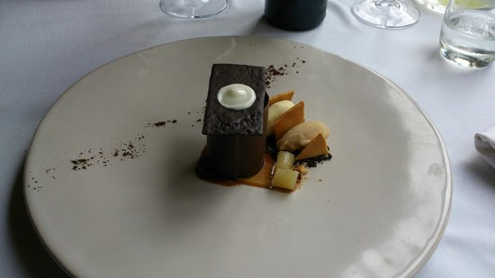 Terroir: Chocolate, hazelnnut, caramel pudding
