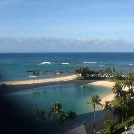 Waikiki Marina Resort at the Ilikai: the view from our deck Awesome