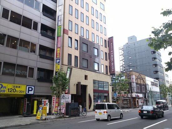 Hotel WBF Sapporo chuo: ホテル外観
