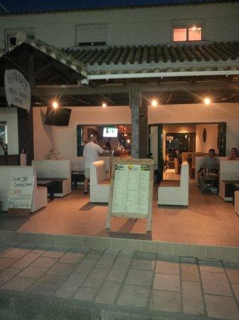 Aquis Sandy Beach Resort: 'Sunset' restaurant
