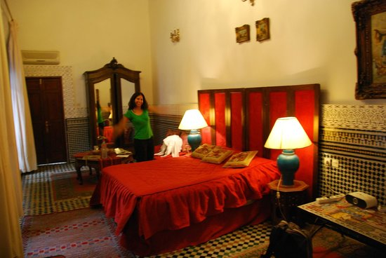 Riad Damia: room