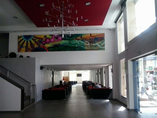 Hotel Hispania : La hall
