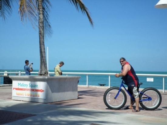Plaza Mallory: morning bike ride 2