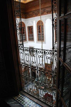 Riad Damia: riad courtyard