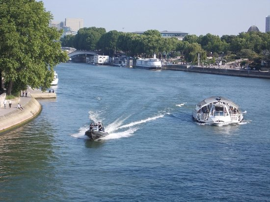 La Seine : boats