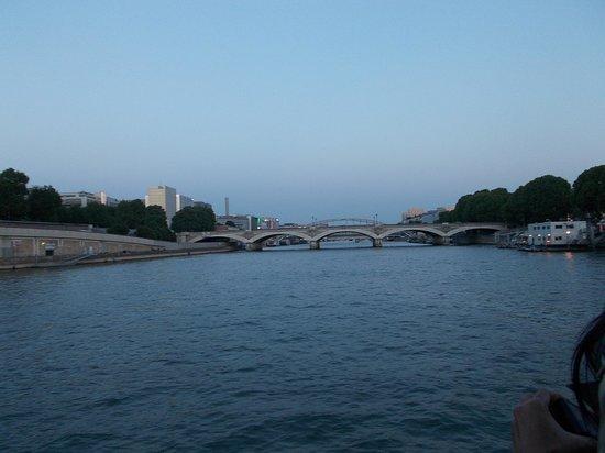 La Seine : view from boat