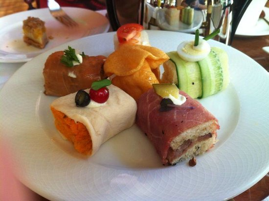 Palace Downtown: Afternoon tea