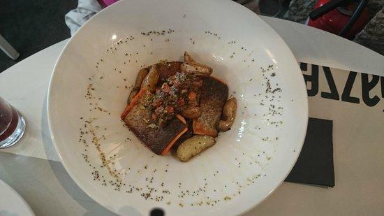 Gazzetta Caffe: La truite au menu du jour le 7 Juin.
