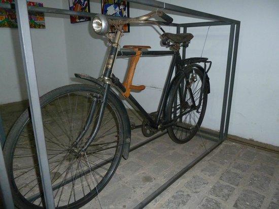 Museu da Bicicleta de Joinville: Bem velhinha
