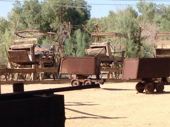 Borax Museum : wagons