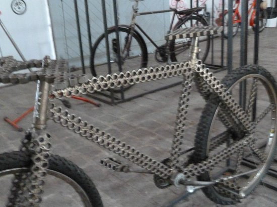 Museu da Bicicleta de Joinville: Arte