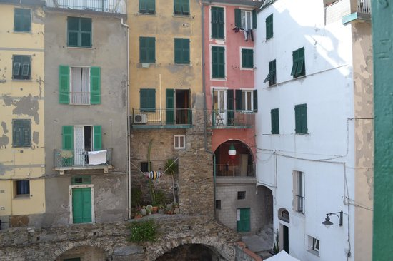 Alla Marina: View from window