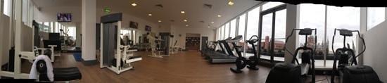 Pullman London St Pancras Hotel : vu panoramique de la salle de fitness