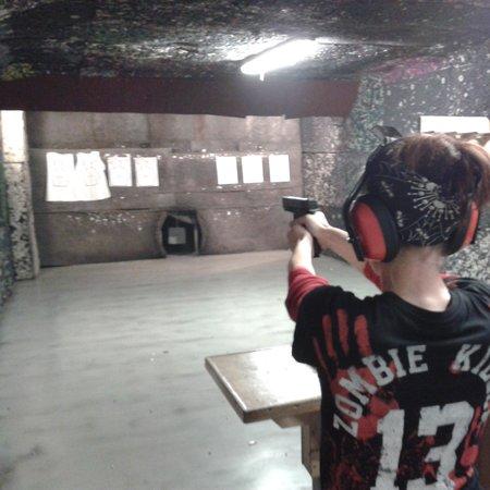 Celeritas Shooting Club : petite montée d'adrénaline... superbe.