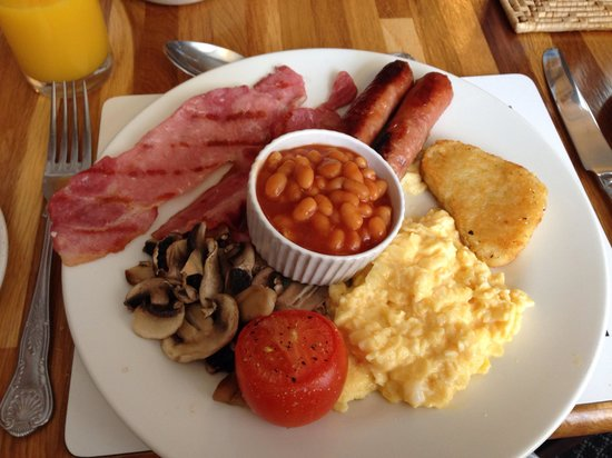 The Bringewood Guest House: Full English breakfast - so good!