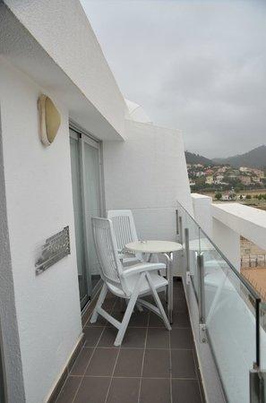 Aqua Hotel Aquamarina & Spa: Terrasse