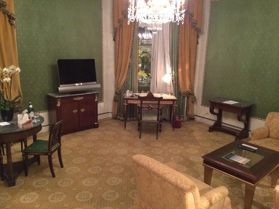 The Westin Excelsior, Rome: Living room