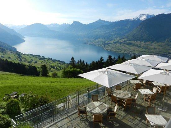 Hotel Villa Honegg : view from superior room