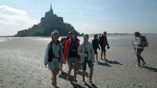 Virginie Morel - Mer et Terr'Oir : Mont Saint Michel vu de l'autre côté