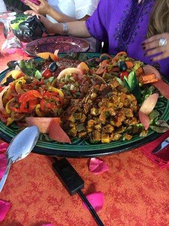 Riad Darija : Entrante de la cena