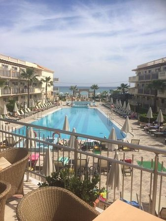 Zante Maris Hotel: view from the terrace