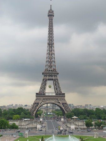 Tour Eiffel : View from the Trocedero