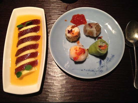 Hakkasan: Dim Sum and Duck with Mango