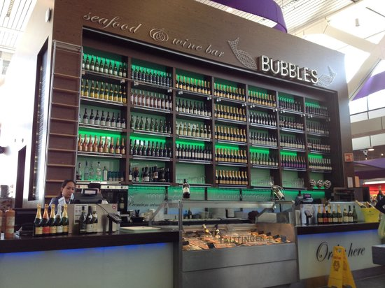 Bubbles Seafood & Winebar: Bubbles Seafood & Wine @ Schiphol