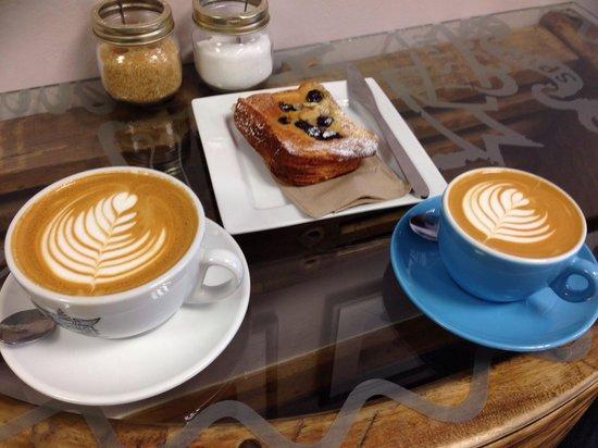 Spring Espresso - Fossgate: Coffee art at its best!