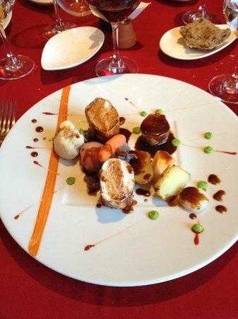 La Grange aux Dimes: appetizer