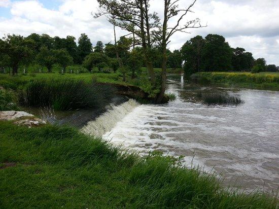 Charlecote Park: river