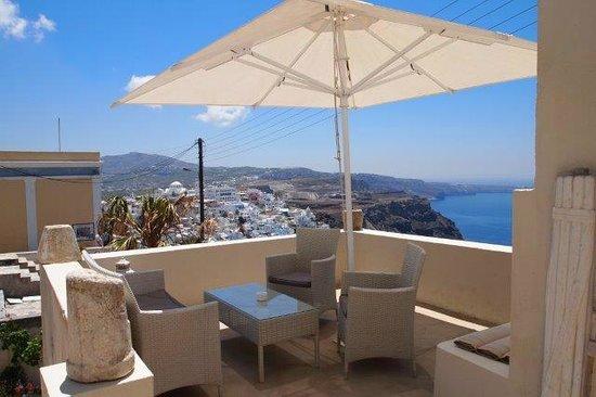 Lava Suites & Lounge: Eigene Terasse