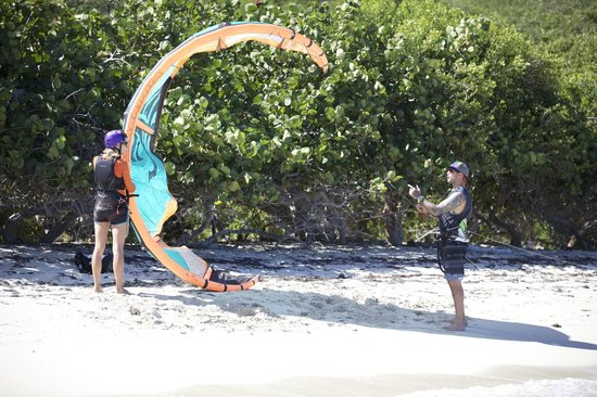 Fusion BVI: Duncan teaching in the Eustatia Sound