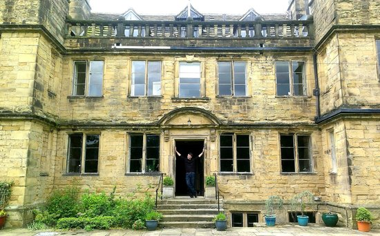 Bagshaw Hall : Main frontage / garden side
