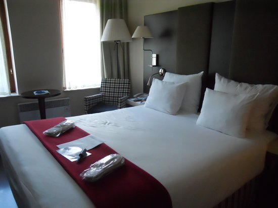 NH Brussels Grand Place Arenberg: cama